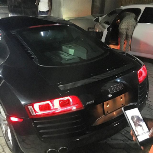 davido new audi car