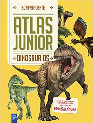 libro conocimientos informativo sorprendente atlas junior dinosaurios