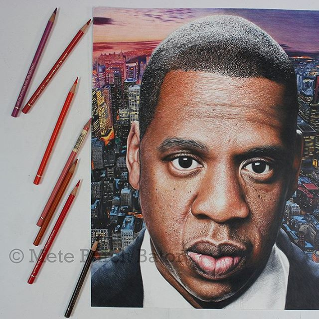 06-Jay-Z-Burch-Scribbles-Photo-Realistic-Drawings-of-Celebrities-and-Friends