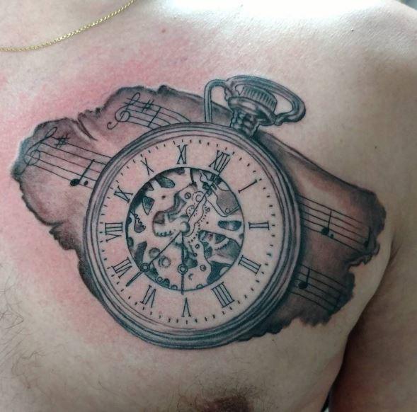 50 evergreen pocket watch tattoos ideas and designs 2018