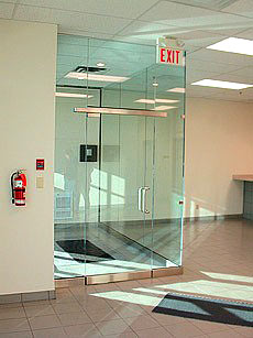 Shower Doors Of Usa Glass Entry Sytem With Floating Header