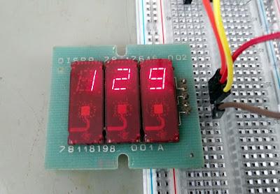 TIL307 LED Display