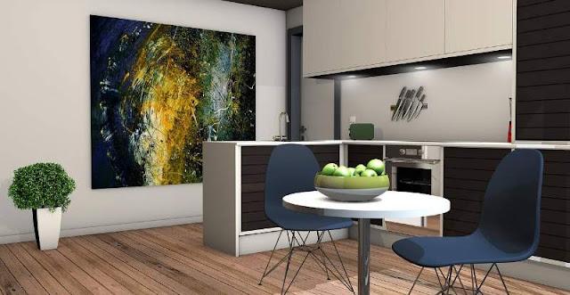 quadri-per-casa-moderna-cucina
