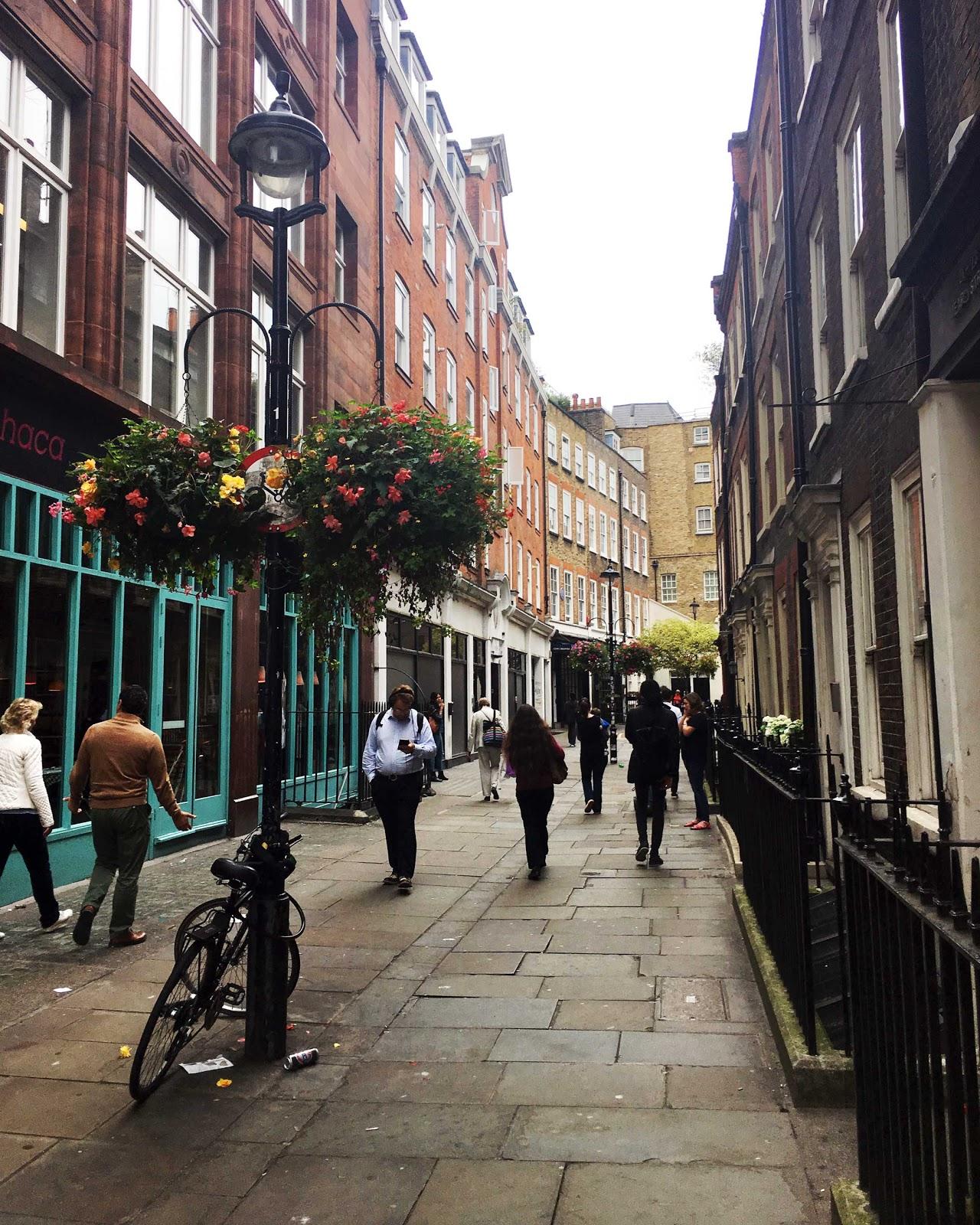 London, soho