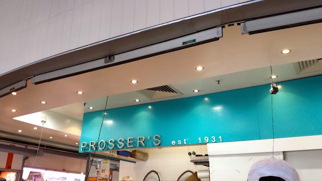 Prosser's Fish Queen Victoria Market, Melbourne