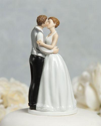Topo de bolo com beijo