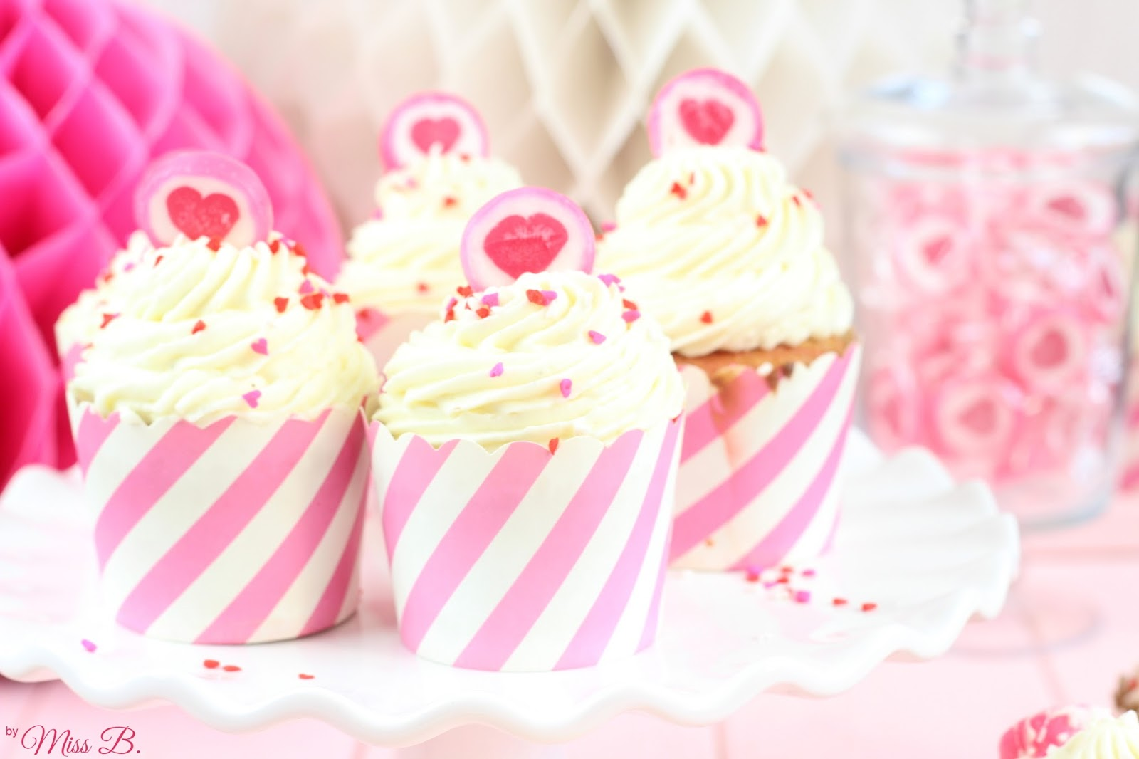 Be mine: Himbeer-Marmor-Cupcakes | Miss Blueberrymuffin | Bloglovin\'