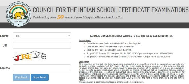 CISCE-ISC-Result