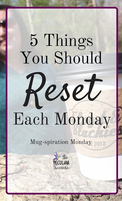 Reset your Mondays for a better week.