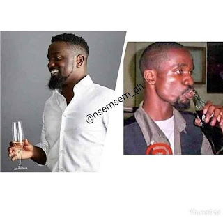 Sarkodie Throwback picture