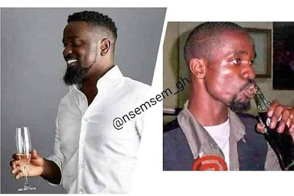 Lol! Sarkodie's Throwback Picture Trends On The Internet
