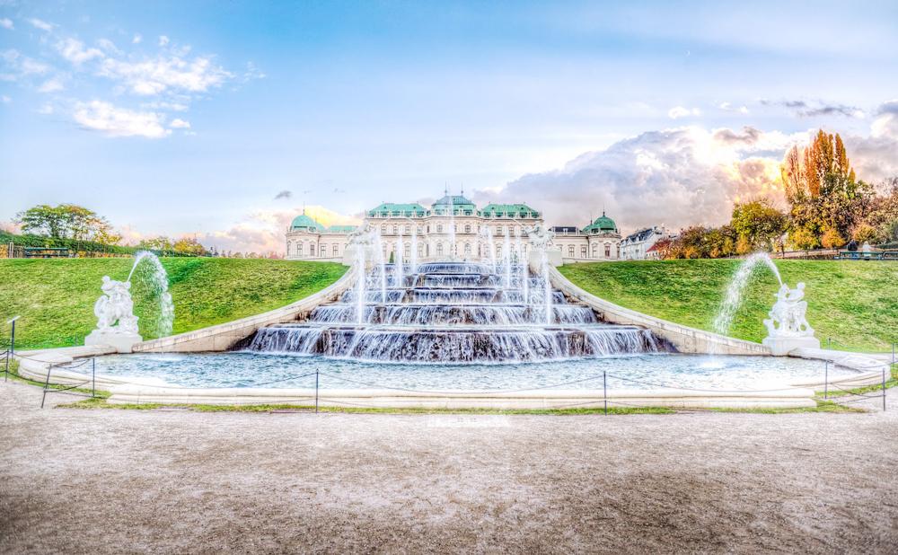 Fotolocation Wien im Frühling