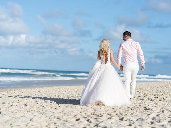 ➳ BEACH LOVE | IDYLLIC STYLED WEDDING PORTRAIT INSPIRATION SHOOT {GOLD COAST}