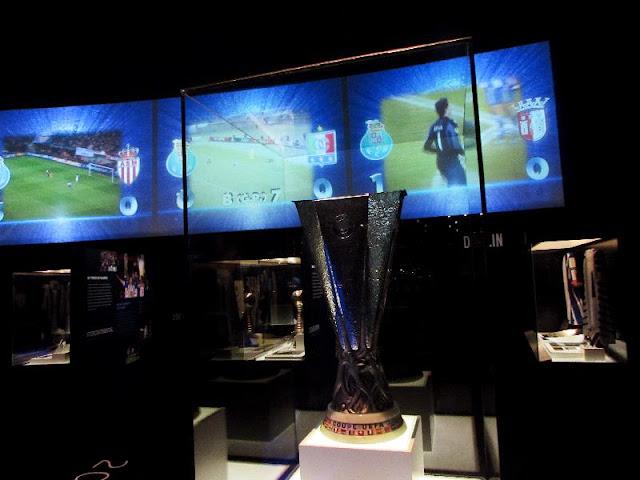 Trofeus de Campeões europeus no Museu do FC Porto