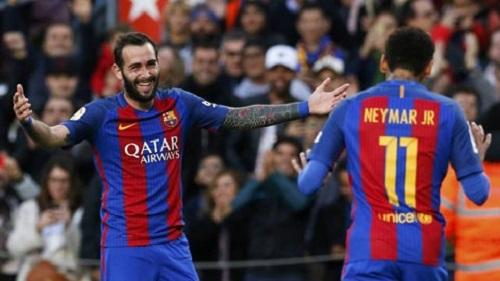 Vidal đã từng là người thừa ở Barca