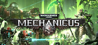 Warhammer 400000 Mechanicus Game Logo