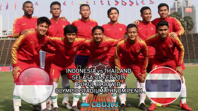 Prediksi Tepat Final Piala AFF U-22 2019 Antara Indonesia vs Thailand (26 Februari 2019)