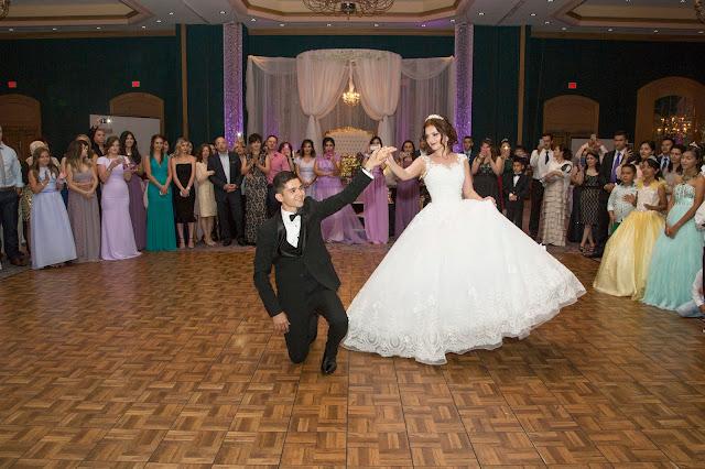 Azamat & Madina First Dance, Hilton Ballroom