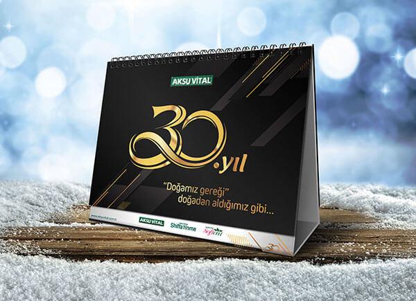 Mockup PSD Kalender 2019 Terbaru - Free Table Calendar Mockup PSD