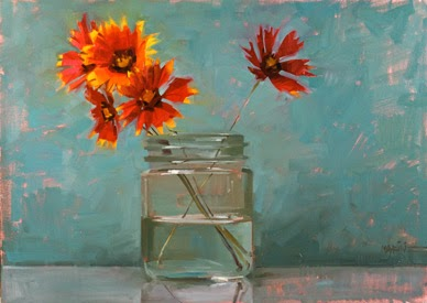 20 Lovely Paintings By Carol Marine