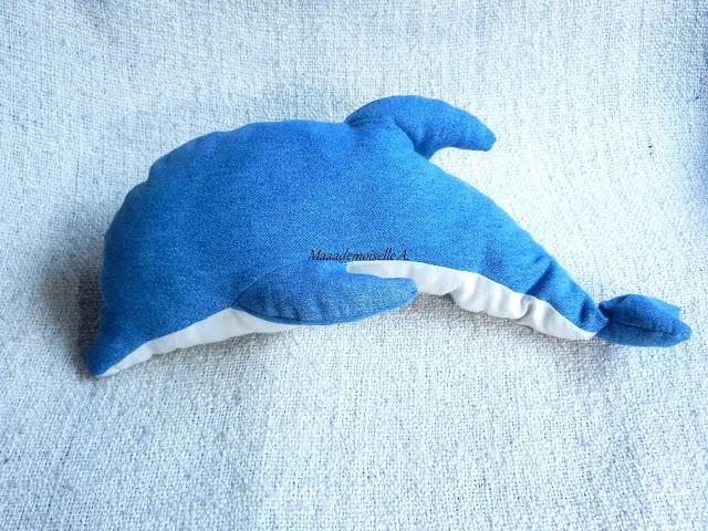 DIY : Coudre un dauphin en peluche (Patron & Tuto)