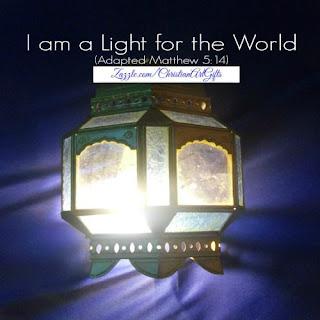 I am a light for the world Matthew 5:14