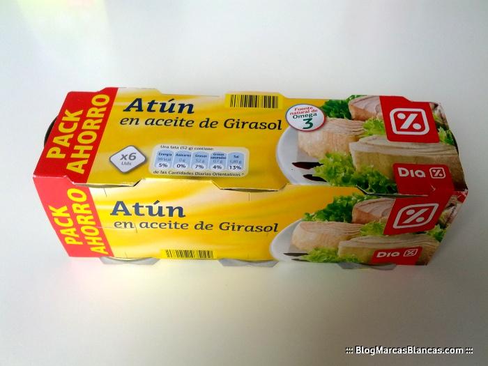Atun aceite de girasol omega 3 y omega 6