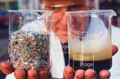 Mengolah Sampah Plastik Menjadi Bahan Bakar Minyak