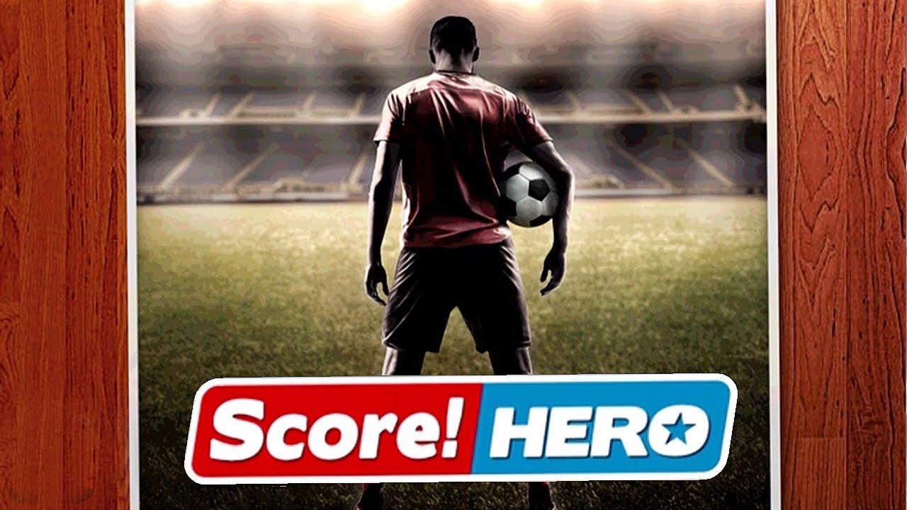 لعبه Score! Hero v1.02 مهكره جاهزه (كره قدم) (تحديث)