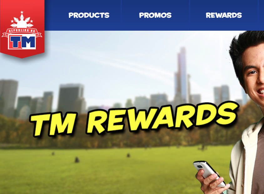 List of TM Rewards – Call, Text, Surf, App and Partners