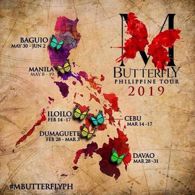 """M. BUTTERFLY"" NATIONAL TOUR 2019 ALL SET FOR SIX- CITY RUN FROM FEBRUARY TO JUNE #Frontrow #MButterfly"