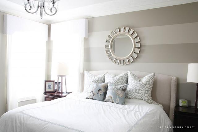Pintar parede com listras