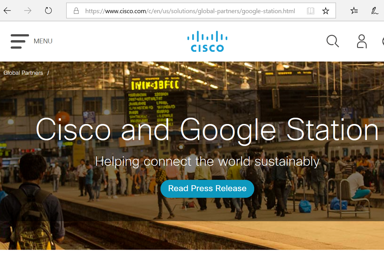 Converge! Network Digest: Cisco teams with Google Station on