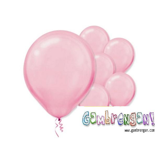 Balon dekorasi Pink
