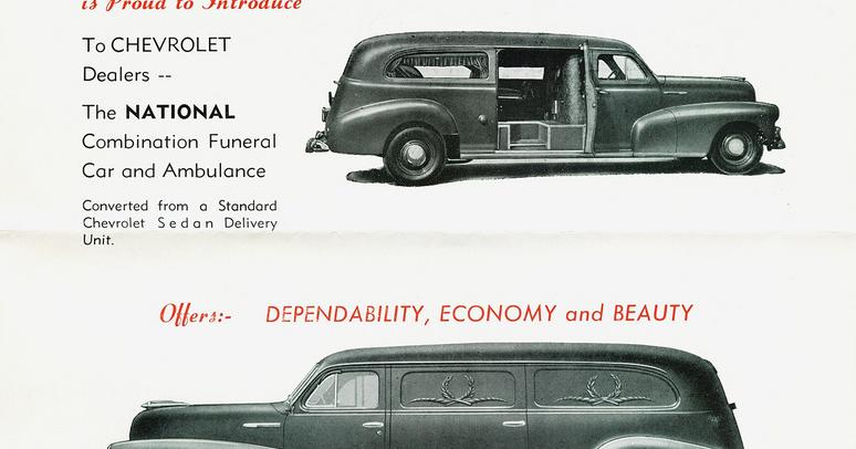 Nostalgia on Wheels: 1948 Chevrolet Hearse & Ambulance - The