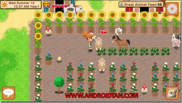 Free Download Harvest Moon Seeds Of Memories Apk Mod + Data v1.0 Unlimited Gold Android Terbaru 2017