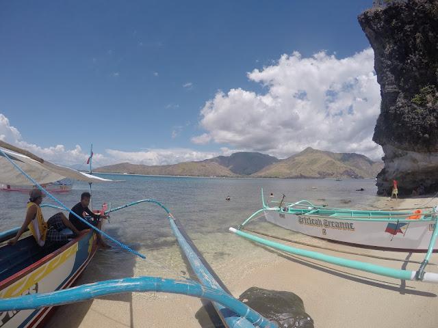 Beaches in the philippines zambales camara island