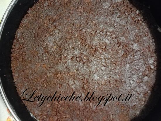 Sbriciolata fredda Pan di Stelle - Letychicche
