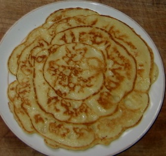 How to make banana pancakes nigerian banana pancake in a plate ccuart Images