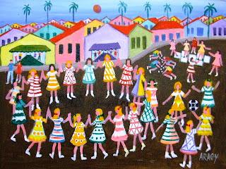 Resultado de imagem para pintura naif brasileira