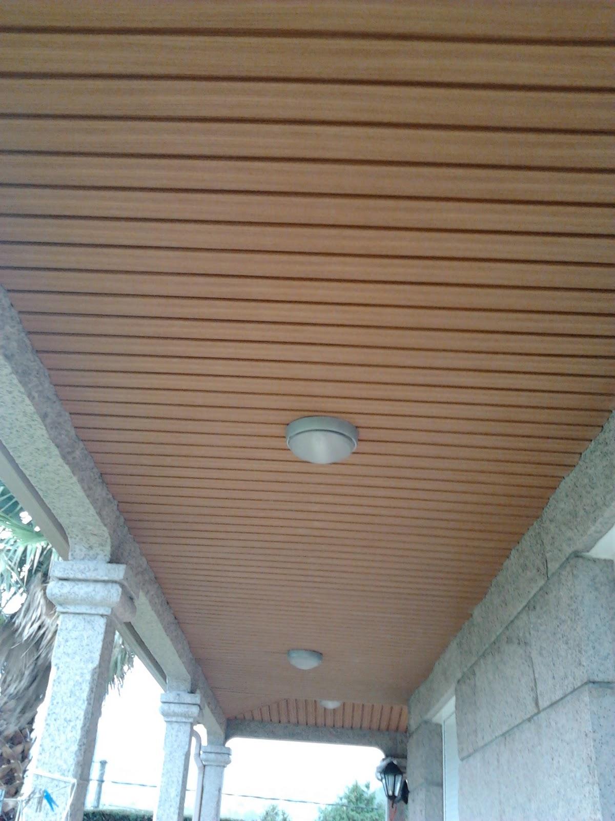 Aluminio alumival galicia forrado de techos imitaci n - Techos falsos de madera ...