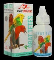 Obat Batuk Burung Merk OBAT TETES ALAMI BIRD CARE