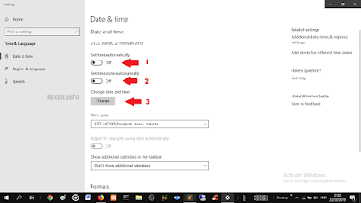 Cara Memperbaiki Jam dan Tanggal yang Salah di Windows 10