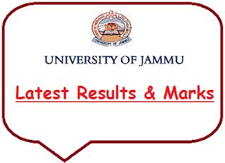Jammu University Result 2020