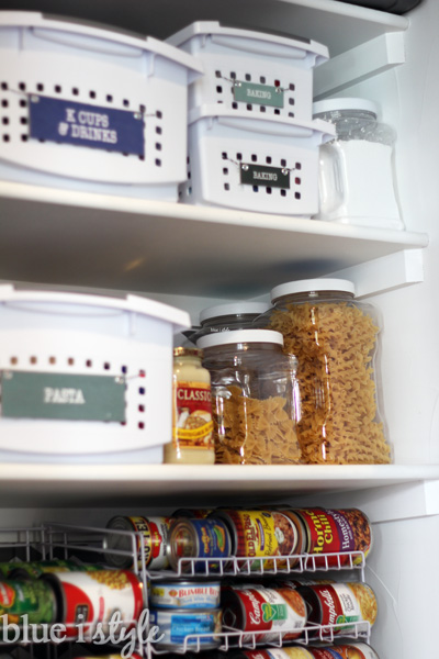 How to Organize a Small Reach-In Pantry | Blue i Style - Creating an Kitchen Closet Pantry Ideas Steps Html on kitchen with walk-in pantry, kitchen doorway ideas, kitchen design, kitchen corner pantry, kitchen great room ideas, kitchen dry bar ideas, kitchen breakfast bar ideas, kitchen pantry armoire, kitchen snack bar ideas, kitchen desk ideas, kitchen eating area ideas, kitchen gas stove ideas, kitchen pantry furniture, kitchen cabinets, kitchen microwave ideas, kitchen pantry and laundry room, fancy coral kitchen ideas, kitchen tray ceiling ideas, kitchen dining area ideas,