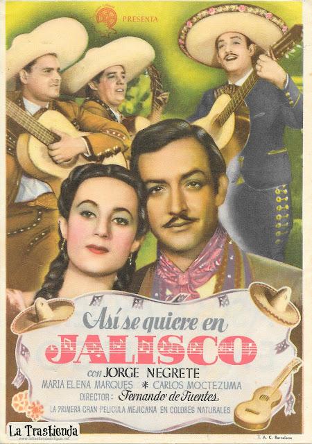 Así se Quiere en Jalisco - Programa de Cine