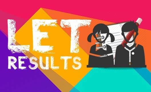 LIST OF PASSERS: March 2018 Secondary LET Results