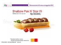 Shallow Pak N Stor Promo Tupperware Desember 2016