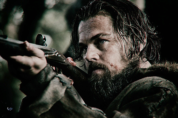 Leonardo DiCaprio and Tom hardy in the trailer of the movie The Revenant