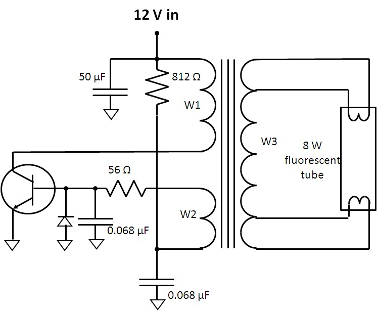Sensational Watts Up Flyback Inverter For Fluorescent Lamp Part 2 A Little Wiring Cloud Hisonuggs Outletorg